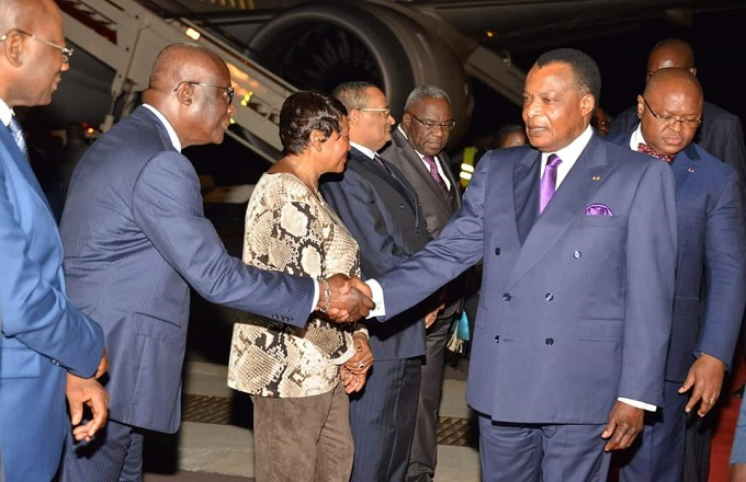 Congo – Présidence : Denis Sassou N'Guesso est rentré de Madrid