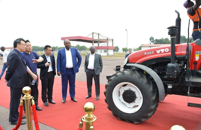 Congo - Industrie : Production imminente des tracteurs agricoles ''made in Congo''
