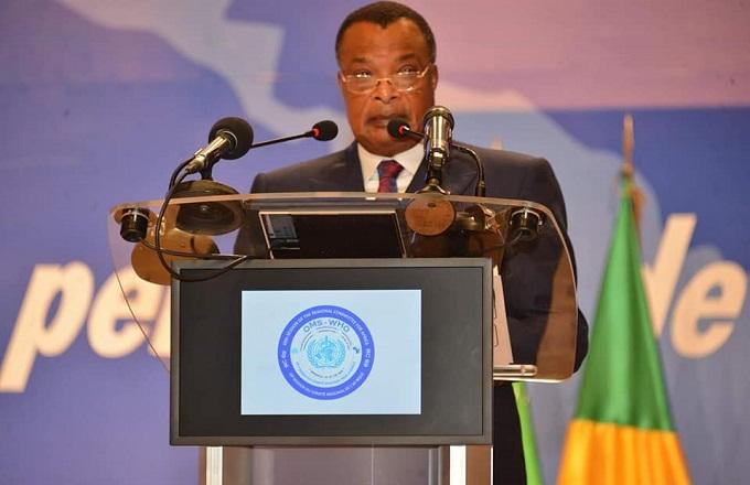 Congo - OMS : Denis Sassou-N'Guesso plaide pour l'élargissement de la couverture sanitaire universelle en Afrique