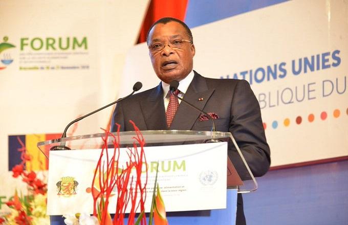 Denis Sassou N'Guesso ouvre le forum des Parlementaires d'Afrique Centrale sur la sécurité alimentaire et nutritionnelle