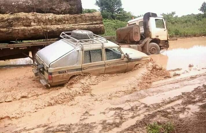 Route Yié-Owando : Circulation interdite aux grumiers