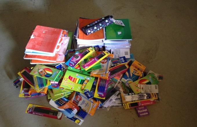 ASU Monde organise une collecte de fournitures scolaires pour aider les enfants démunis du Congo et de France