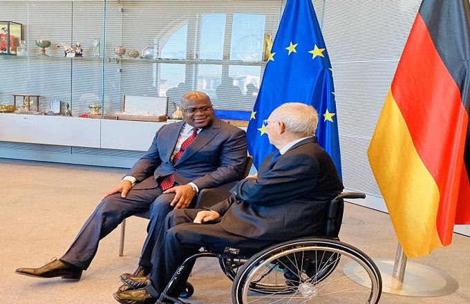 Félix Tshisekedi en VRP en Allemagne : deux jours pour séduire et pour vendre les potentialités de la RDC