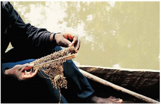 La pêche à la palangrotte chez les peuples nzebis de Mayoko et Mbinda