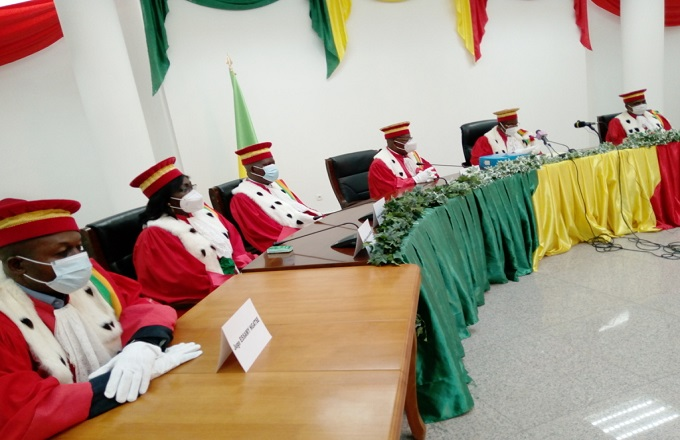 Présidentielle 2021 : la Cour constitutionnelle a validé sept candidatures sur huit présentées par la DGAE