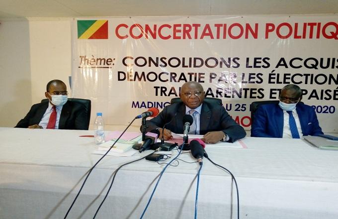 Concertation politique de Madingou : le gouvernement s'engage à appliquer à la lettre toutes les conclusions
