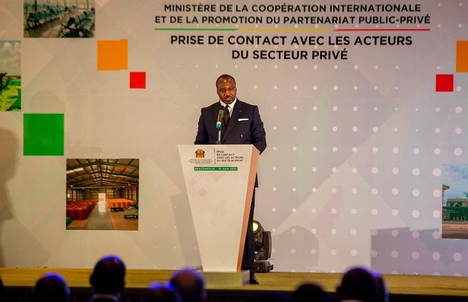 Denis Chrsitel Sassou-N'Guesso  appelle les opérateurs nationaux et étrangers à diversifier leurs investissements  au Congo