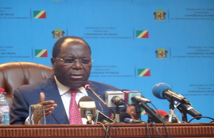 Ce qu'il faut retenir de la conférence de presse de Clément Mouamba