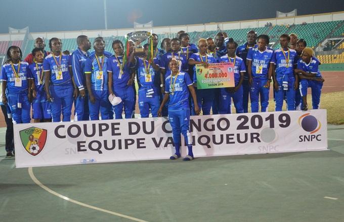 Coupe du Congo dames : Epah Ngamba a chicoté Tula ka tula 4-0