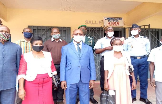 Hinda : L'administrateur-maire Valentin Ngot  a eu une séance de travail avec les responsables des structures déconcentrées
