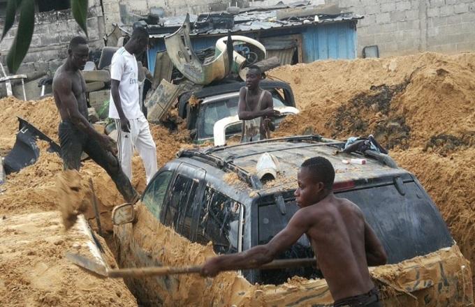 Inondations à Brazzaville : les populations les pieds dans la boue s'interrogent sur l'assistance des autorités