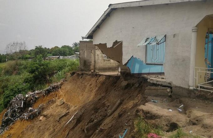 Erosions à Brazzaville : Les populations d'Itsali forcées de quitter les lieux vivent désormais dans la peur