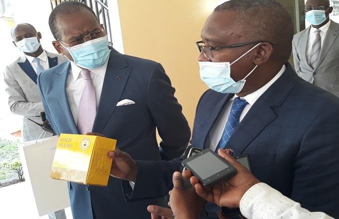 Pierre Mabiala et l'ambassadeur du Rwanda échangent sur l'acquisition des terres agricoles au Congo