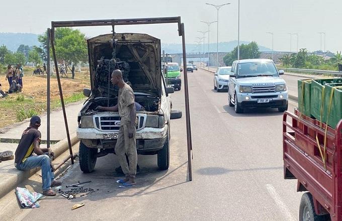 Brazzaville : La Mairie à l'assaut des véhicules abandonnés sur la voie publique