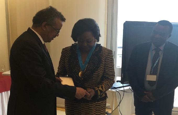 Congo – OMS : Antoinette Sassou N'Guesso distinguée  pour son combat contre la drépanocytose
