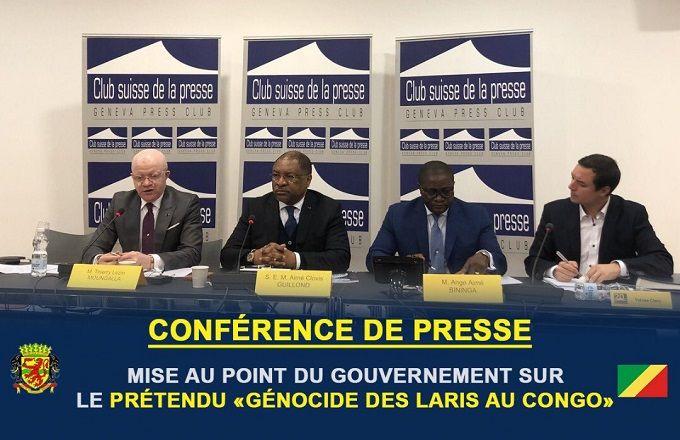 Congo – « Prétendu génocide des laris » : Le gouvernement congolais fait une mise au point depuis Genève