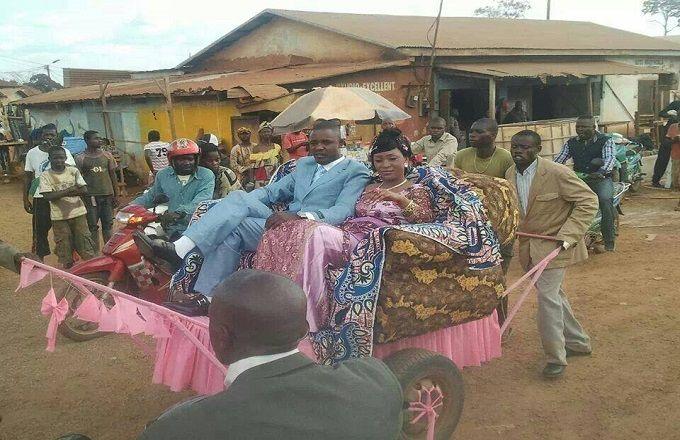 Congo – Faits de société : Un mariage qui fera date dans la mémoire collective à Mouyondzi