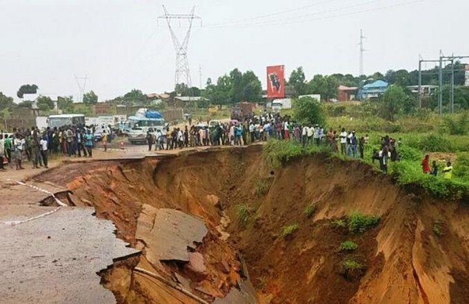 Congo : Plus d'un milliard de FCFA pour traiter les érosions à Brazzaville et Pointe-Noire