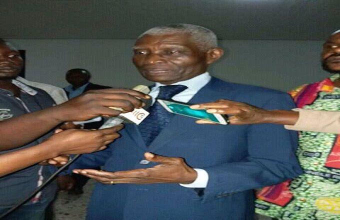 Le vénérable Roger Ekoula élu premier questeur du sénat congolais