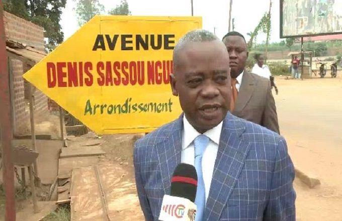 Nkayi : L'avenue de la gare porte désormais le nom de Denis Christel Sassou Nguesso