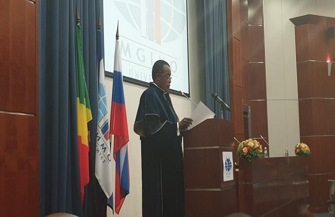 Denis Sassou N'Guesso devient docteur honoris causa par l'institut d'État des relations internationales de Moscou